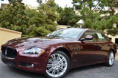Maserati burgundy