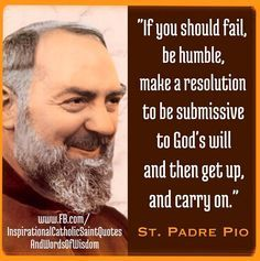 Revelations St. Padre Pio - Google Search