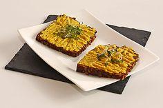 veganer Kichererbsen-Curry-Aufstrich