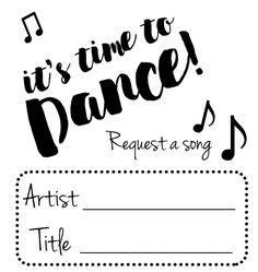 Muziek verzoekjes (10st)