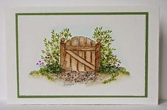 Gate Is sold in a set or individually also the branches, mini grass, & flowers are sold individually. Made by Art Impressions. You can purchase these  in  my ebay store. Click on picture & it will take you into this listing in my Ebay Store. .  My ebay Store is:  Pat's Rubber Stamps & Scrapbooks or call me 423-357-4334 with order. We take PayPal. You get free shipping with $30.00 or more