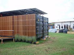 shipping container house, solar decathlon, Washington DC 2011