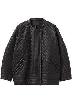 Isabel Marant Abelia Quilted Leather Jacket