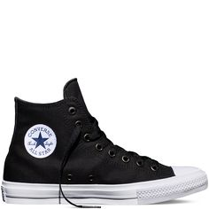 Chuck Taylor All Star II Negro black/white/navy