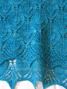Spring Leaves on Ravelry. Free pattern.