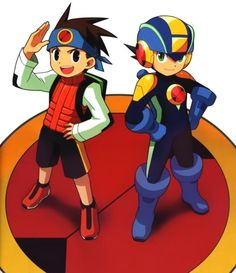 Megaman Battle Network. Lan and Megaman, one of the best teams ever