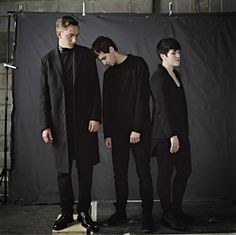 Oliver Sim, Jamie Smith, and Romy Madley Croft of The xx -- thanks to my cousin over a year ago I was introduced to their music and fell in love!