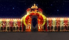 Espectáculo Circo de Luz no Terreiro do Paço