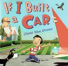 If I Built a Car - book, activity, and snack idea