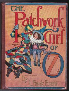 L Frank Baum / John R Neill - Patchwork Girl of Oz