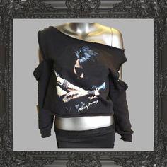 » Ashley Purdy Fashion Inc – Crossed Arms off the shoulder cut sweatshirt NEW!! Ashley Purdy Fashion Inc