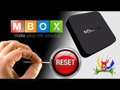 Como fazer funcionar o TV Box MXQ 4k reset restaurar de fabrica seu tv box. #rdlstore - YouTube O Tv, Netflix, Youtube, Make It Yourself, 4k, How To Make, Life, Color, Tutorials