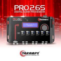 Processador de áudio digital PRO 2.6S  Saiba mais em goo.gl/qym9M6