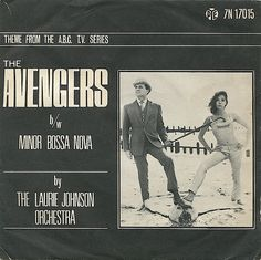 TV Soundtrack: Laurie Johnson The Avengers (1966) Pye Records (UK) by jadedtom, via Flickr