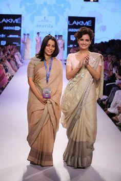 Lakmé Fashion Week – ANAVILA AT LFW SR 2015 Lakme Fashion Week 2015, Senior 2015, Ethnic Chic, Blouse Designs, Sari, Classy, Indian, Beauty, Beautiful