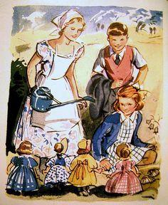 Vintage Eileen Alice Soper (1905 - 1990) illustration, via Flickr.