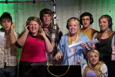 "TENACITY: For ""Eye of the Tiger,"" all six contenders were in the recording booth at the same time!  #TheGleeProject"