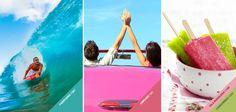 Suaves ou intensas, as cores do verão marcam uma temporada de liberdade e alegria eletrizante. Qual é a cor que marcou o seu verão?