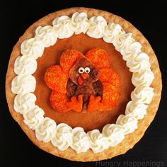 How To make a Decorated Pumpkin Pie