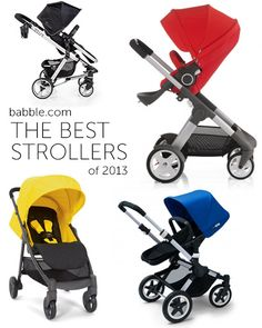 Babble Blogger Favorites: The Best Strollers of 2013