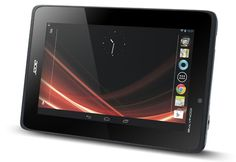 Acer Iconia Tab A110 | This 7 inch tablet will be available in the US by the end of this month. Tablet will come with Android 4.1 Jelly Bean with a resoultion of 024 x 600 pixels, processing is provided by a quad core 1.2GHz NVIDIA Tegra 3 processor. |