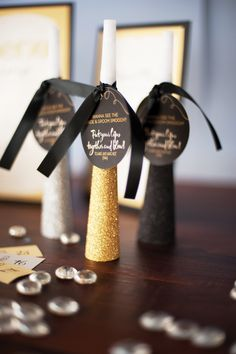 NoiseMakers & tags- New Years Eve Wedding   2ucollection.com   http://the2ucollection.blogspot.com/
