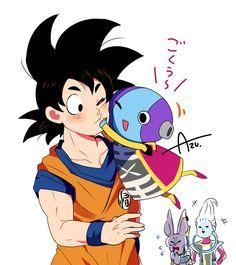 Son Goku & Zeno-sama :D