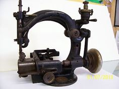 Antique Bulasky sewing machine from 1914