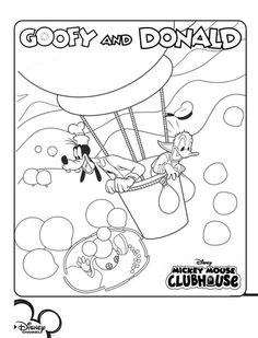 Mickey Mouse Clubhouse Coloring Pages 4