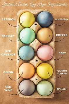 Naturally Dyeing Easter Eggs - Homemade Dye Recipes For Easter Eggs day ideas decoration How To Make Natural Easter Egg Dye From Ingredients In Your Kitchen Easter Egg Dye, Coloring Easter Eggs, Hoppy Easter, Egg Coloring, Natural Dyed Easter Eggs, Easter Bunny, Easter Dyi, Easter Stuff, Easter Eggs