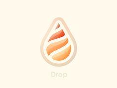 Drop Logo by Yoga Perdana