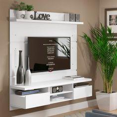 Painel para TV até 50 Polegadas Live Branco 160 cm