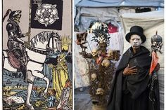 Mystical and realistic: Alice Smeets interprets the symbolism of Tarot cards in the slums of Haiti. 'The Ghetto Tarot' - an illustrated book by Edition. Tarot Oui Non, Traditional Tarot Cards, Transformers, Citation Art, Alice, Haitian Art, Rider Waite Tarot, Vida Real, Documentary Photographers