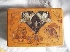 Art Nouveau designed box