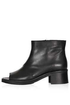 Topshop AUCKLAND Peep Toe Boots