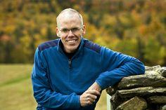 Portrait of Bill McKibben, author and activist. photo ©Nancie Battaglia