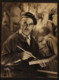 """FERRUCCIO FERRAZZI, 1891 - 1978, """"Toro rosso"""" #museonovecento #arte #firenze"""