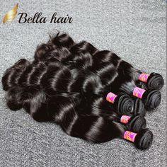 Yelo Malaysian Body Wave Hair Bundles Non Remy Hair Weave Bundles 4 Bundles Omber Hair Extensions 100% Human Hair 50g/piece Human Hair Weaves
