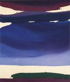 ALONGTIMEALONE: topcat77: Helen Frankenthaler