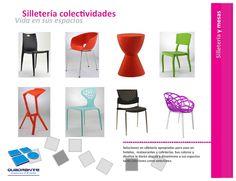 Muebles para hoteles - sillas para colectividades