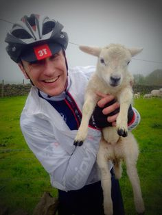 BikeitUK ‏@Bikeit_UK #GreatEscape #livestock back safely in field whilst #cycling today things you see and do on a #bike #sheepoftheweek
