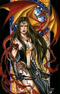 Nene Thomas Dragons | Nene Thomas - Dragon Witch 3: Corona | Sorceress's & Other Magical th ...