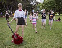 Taylor Swift Wax Figure Sydney, AUS.