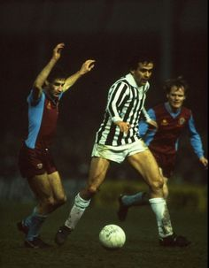 Platini - a pain at UEFA and also a pain for the Villa defence back in 1983