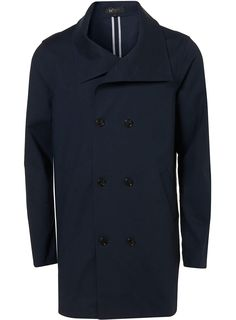 VILLAIN LARGE COLLAR COAT - Topman  Price:£185.00