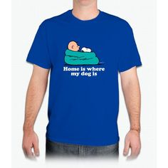 Charlie Brown: Home Is Where My Dog Is - Mens T-Shirt