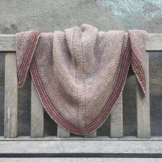 TUSINDFRYD: Mit Sjal - En gratis strikkeopskrift på et begyndervenligt sjal