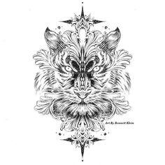 Feline Coloring Page