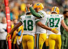 Randall Cobb, Aaron Rodgers, and Jordy Nelson Packers Football, Football Players, Indianapolis Colts, Cincinnati Reds, Randall Cobb, Dallas Cowboys, Pittsburgh Steelers, Go Pack Go, Aaron Rodgers