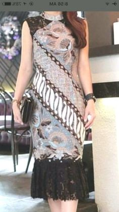 Homemade Ranch Dressing - A Family Feast® - New Ideas Dress Brokat Modern, Indonesian Kebaya, Batik Fashion, Women's Fashion, Batik Dress, The Dress, Occasion Dresses, Elegant Dresses, Outfit